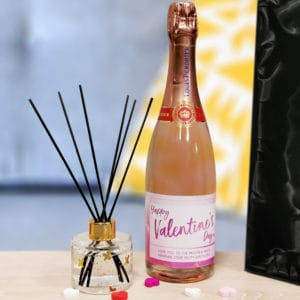 Personalised Prosecco & Reed Diffuser Gift Set