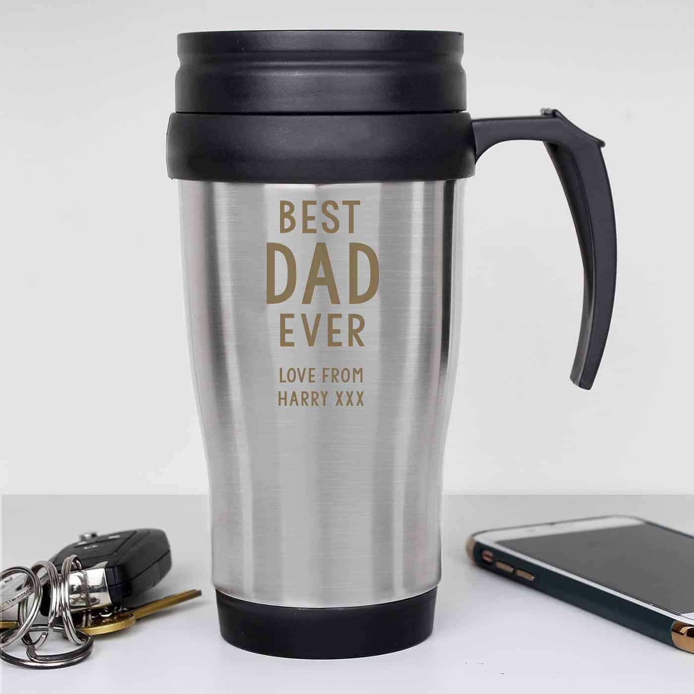 Personalised Free Text Travel Mug