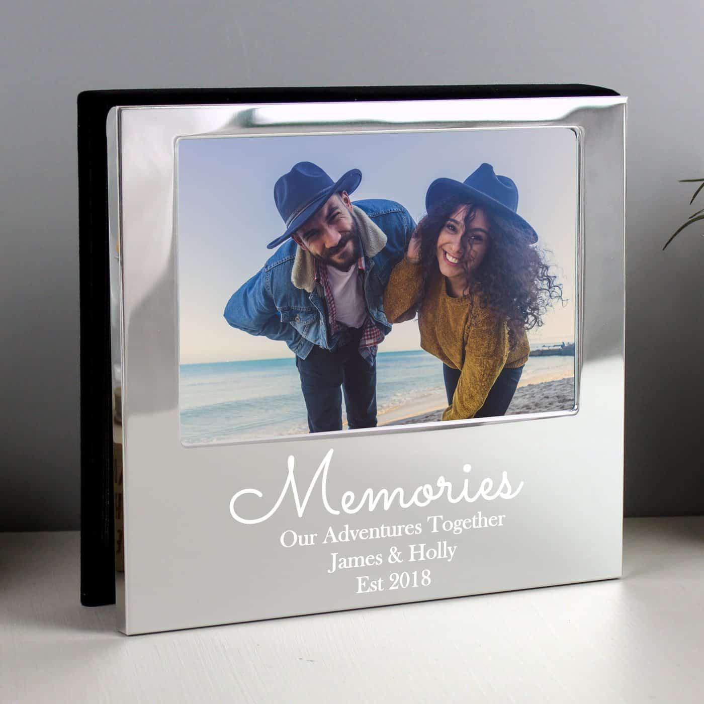 Personalised Memories 6x4 Photo Frame Album