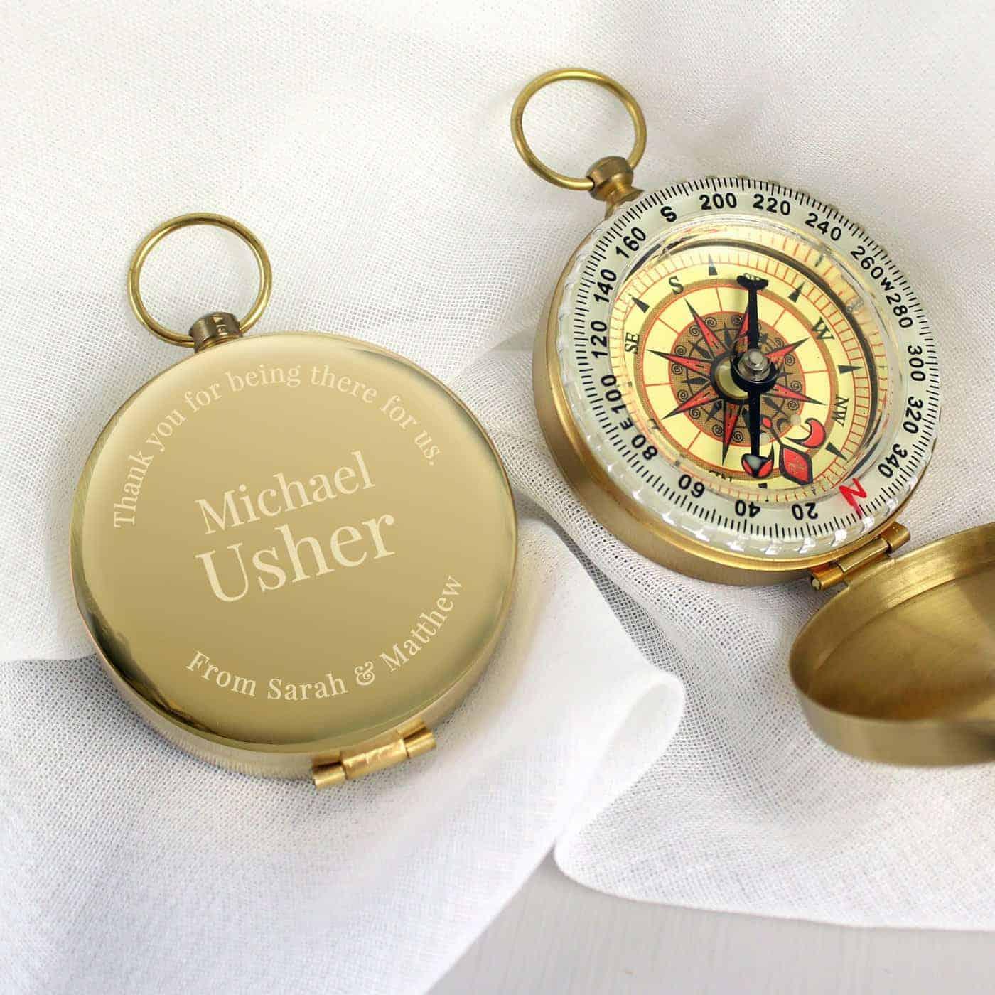 Personalised Wedding Compass