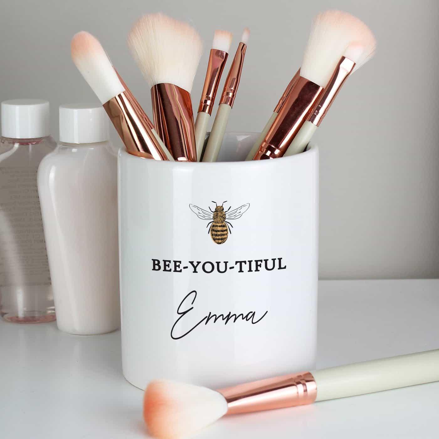 Personalised Bee-u-tiful Ceramic Storage Pot