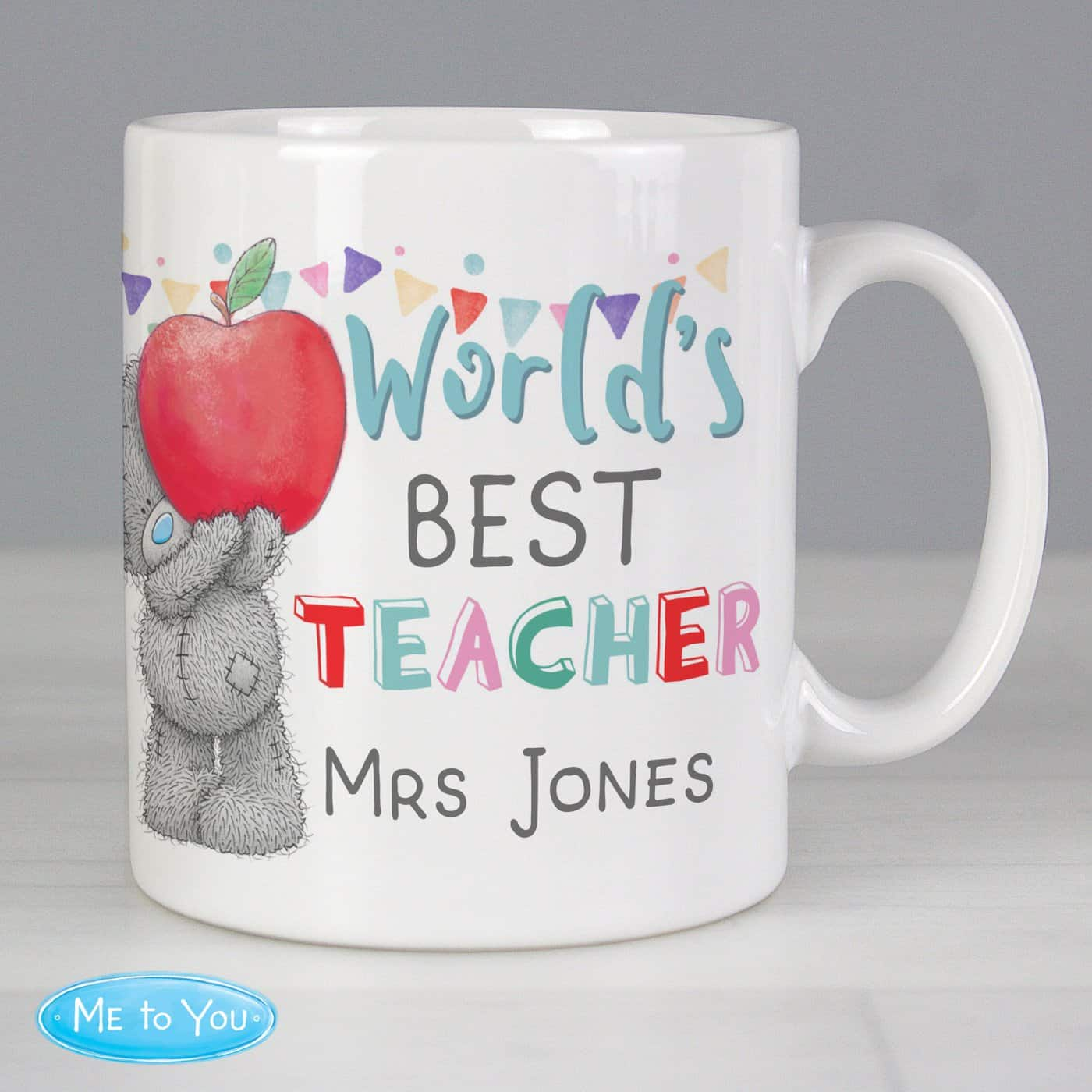 Personalised Me to You World's Best Teacher Mug